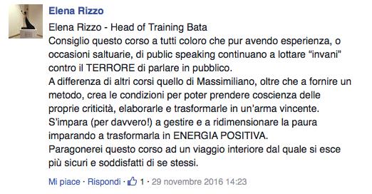 corso parlare in pubblico Milano
